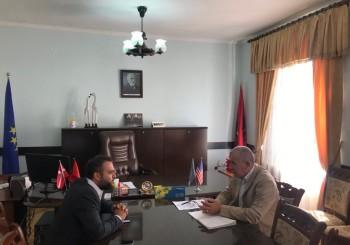 Prefekti i Qarkut Dibër Z. Nexhbedin Shehu pret në takim përfaqësuesin e Prezencës së OSBE-së në Shqipëri