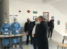 Prefekti i Qarkut Dibër Z. Nexhbedin Shehu monitoron procesin e vaksinimit të mësuesve në Njësinë Administrative Maqëllarë